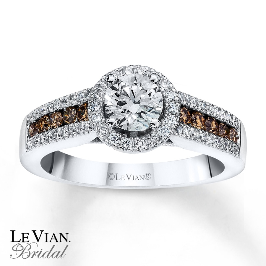 white with chocolate rings vian david le blog engagement each jewelers bridal diamond right levian has diamonds offset this ben