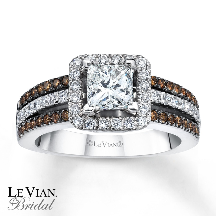 Le Vian Bridal Chocolate Diamonds 14k Gold Engagement Ring