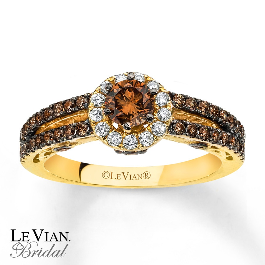k band cttw levian for mens jared diamonds gold chocolate diamond intended le engagement wedding vian rings bands
