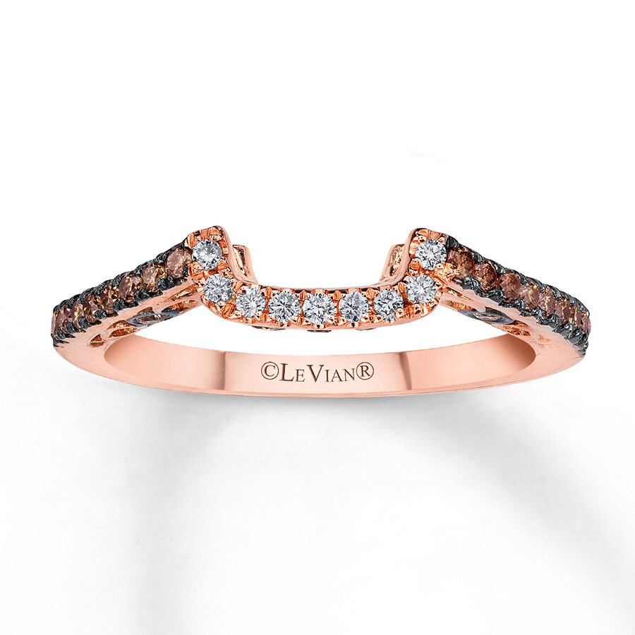 Kay  Le Vian Bridal Chocolate Diamonds 14K Gold Wedding Band
