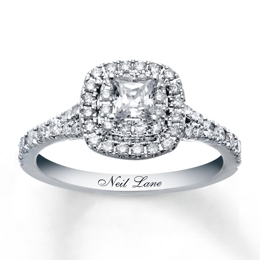 Wedding Rings Kay: Neil Lane Engagement Ring 1 Ct Tw Diamonds 14K White Gold