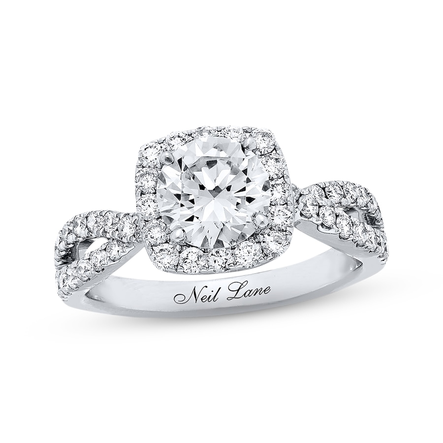 samodz diamond neil settings engagement lane rings ring