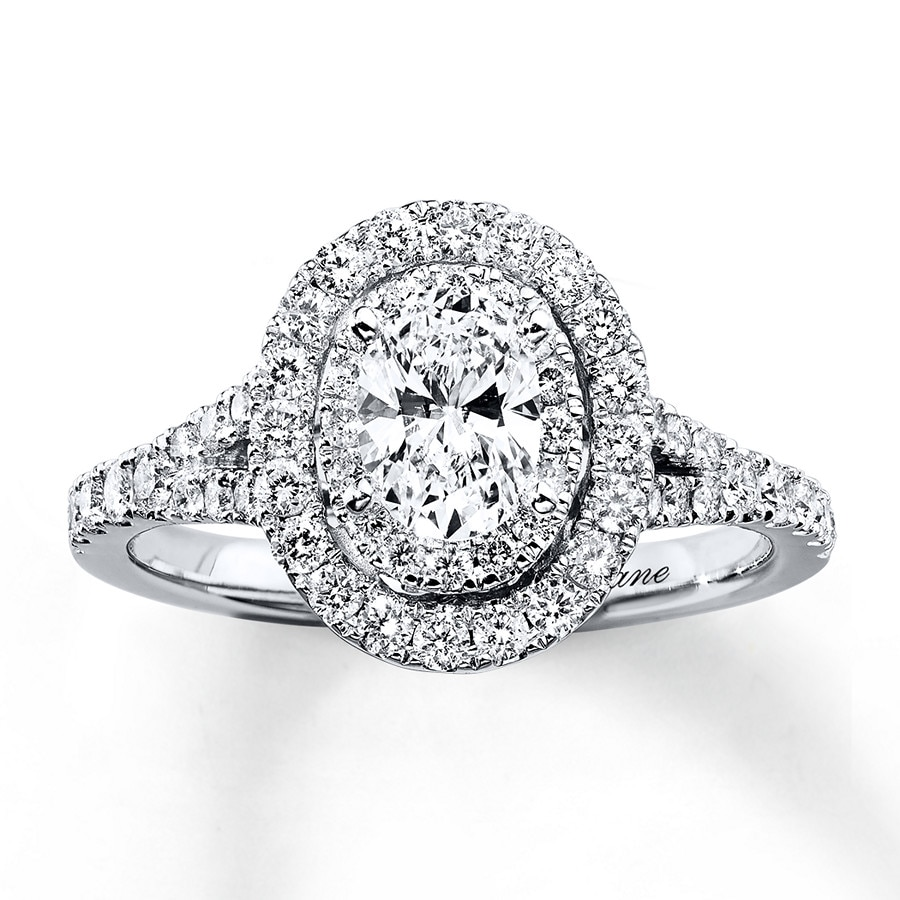 halo engagement lane unique fresh new prices oval ring of rings diamond neil