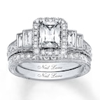 Neil Lane Bridal Set 2 3/8 ct tw Diamonds 14K White Gold