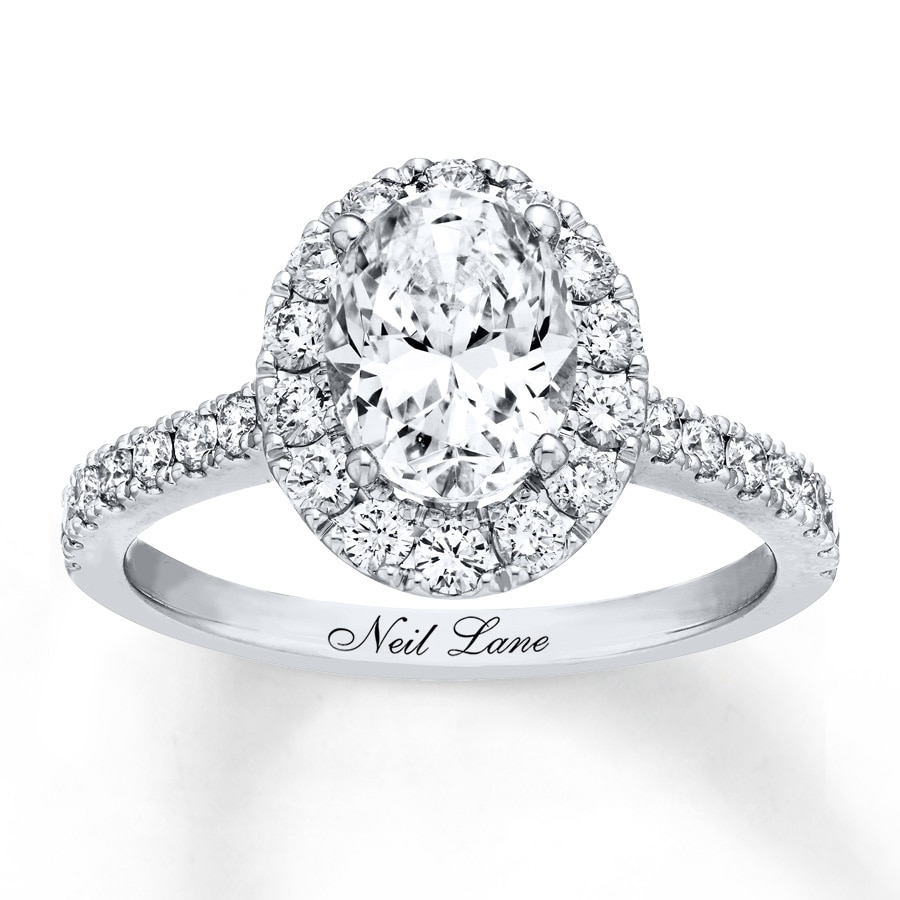 neil to ring celebrity lane designer engagement chat rings diamond we