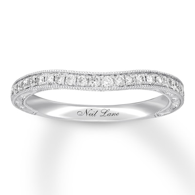 Neil Lane Diamond Wedding Band 1/4 ct tw 14K White Gold
