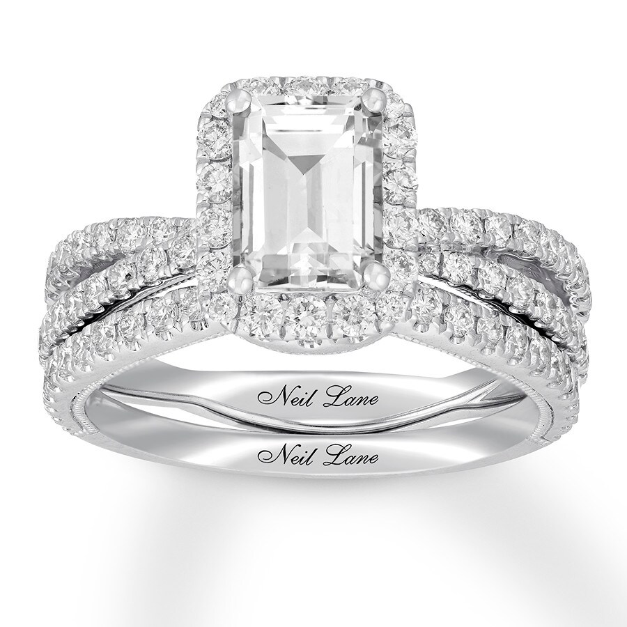 1a1255a81b81a9 Neil Lane Diamond Bridal Set 2-3/8 ct tw 14K White Gold - 940388300 ...