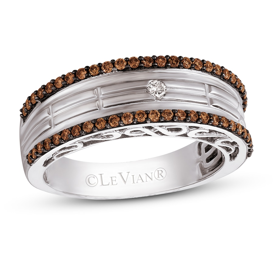tw search images t ring white bands ct w buckle diamonds rings levian chocolate diamond