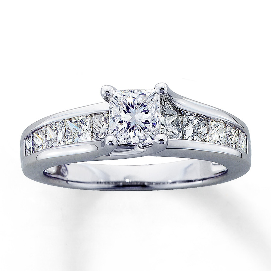 kay jewelers style princess diamond rings kays her for cut ring promise engagement