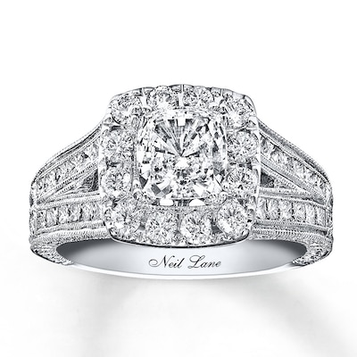 Neil Lane Engagement Ring 2 ct tw Diamonds 14K White Gold