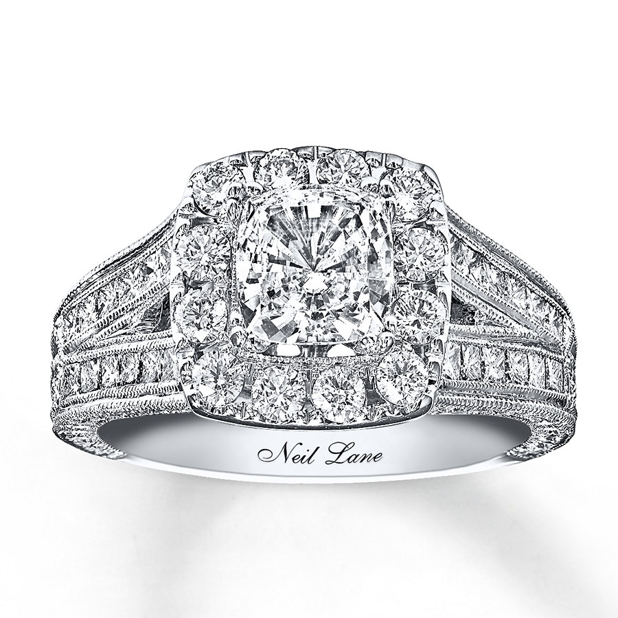 Wedding Rings Kay: Neil Lane Engagement Ring 2 Ct Tw Diamonds 14K White Gold