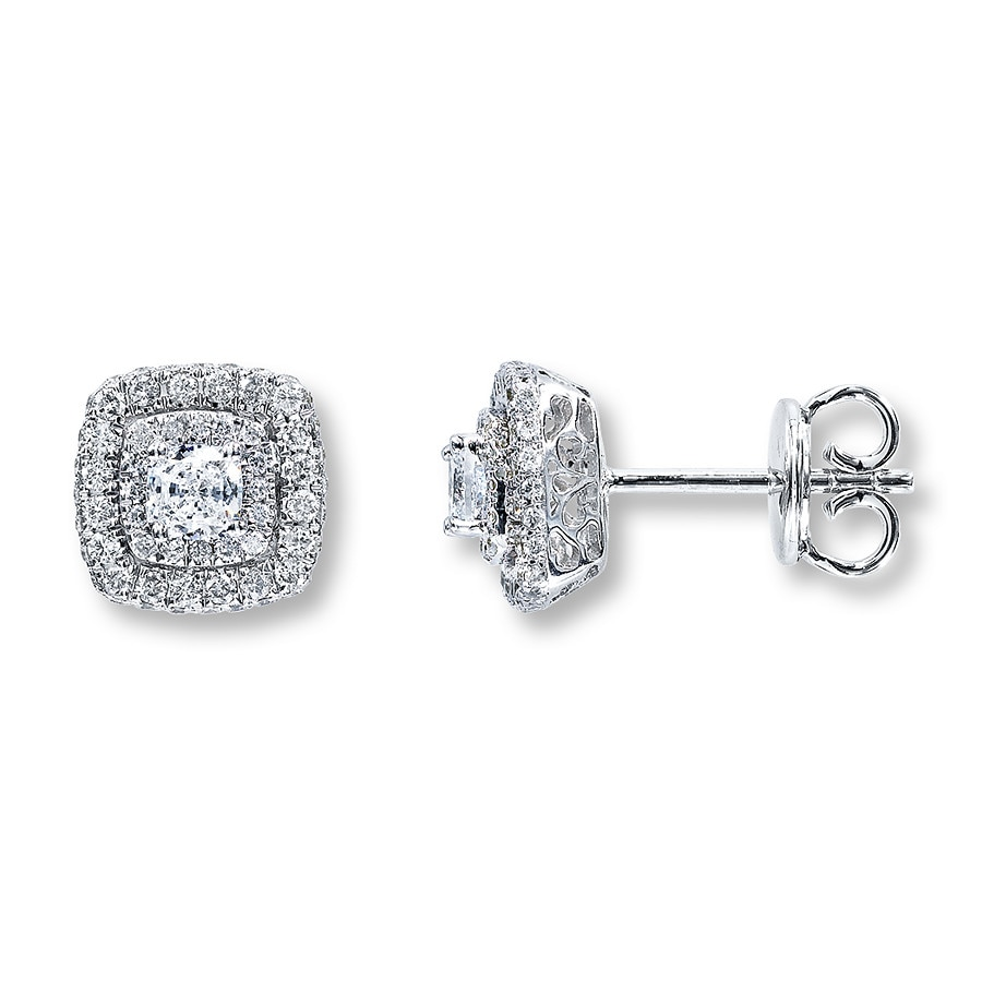 kays earrings jewelers 1 carat stud earrings jewelry 3386