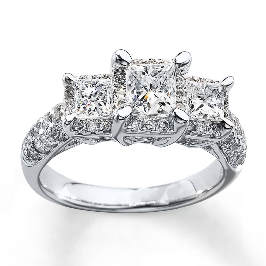 stone awhite three wedding engagement new ring diamond bands anniversary rings and