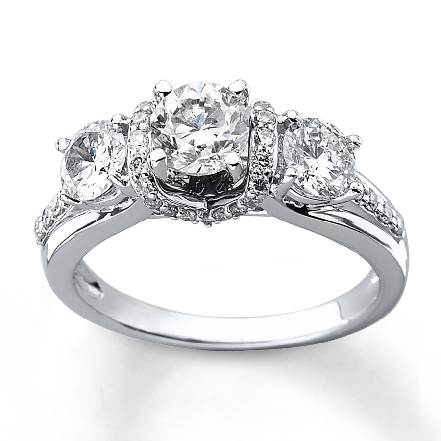 halo engagement rings item ring stone daviani diamond cushion