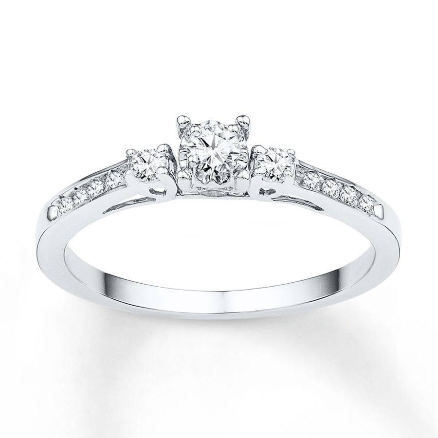 Men S Three Stone Diamond Ring