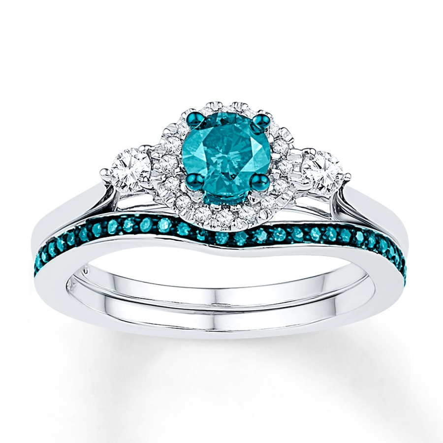 cut white rings nl ice topaz engagement and diamond stone in round three halo ring blue delicate jewelry gold with wg