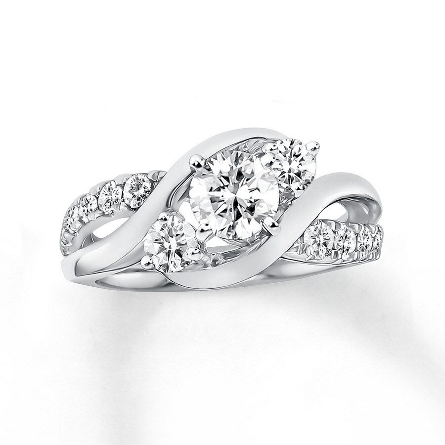 K Diamond Engagement Ring